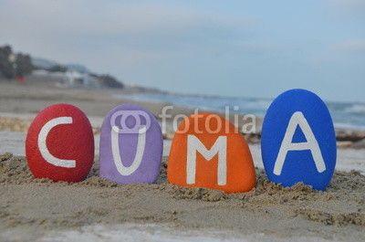 Cuma, friday in turkish language