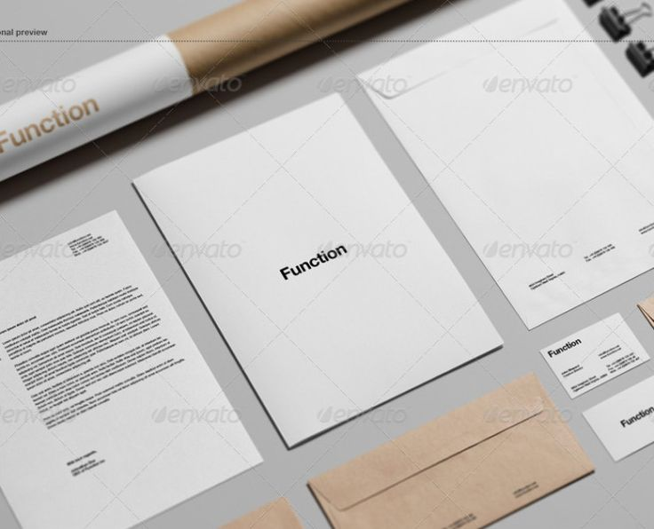 25+ Branding/Identity & Stationery Mockups PSD