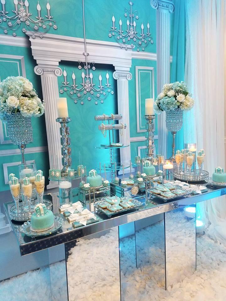tiffany baby shower ideas stunning dessert table baby shower tiffany theme in 2018 pinterest baby shower shower and bridal shower