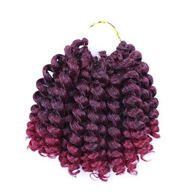 Wand Curl Crochet Twist Hair Braids Bouncy 20 Roots Hair Extensions Hair Braids 5849004 2017 – $4.99