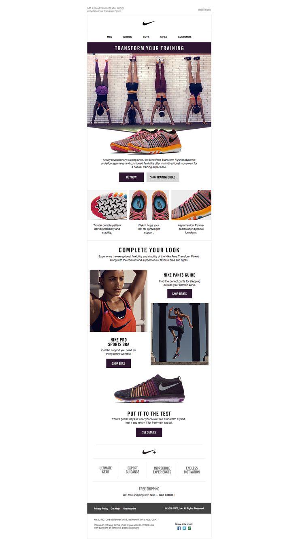 Nike  |  Product Layout