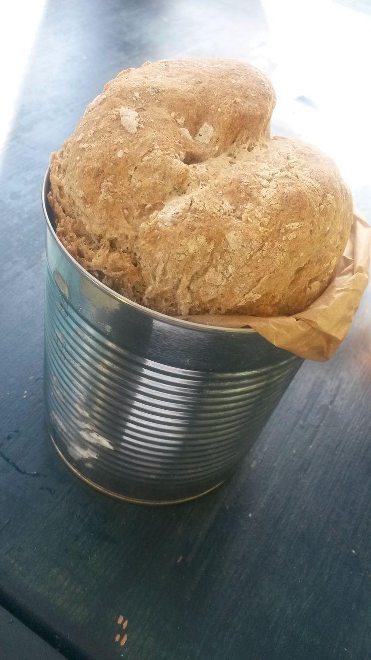 Dosenbrot mit Kräutersalz # Brot aus der Dose, #Dosenbrot