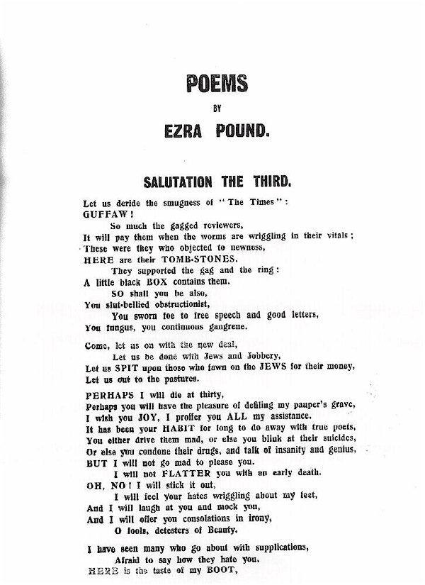 Creator: Ezra Pound Date: 1914 http://www.english.illinois.edu/maps/poets/m_r/pound/blast.htm