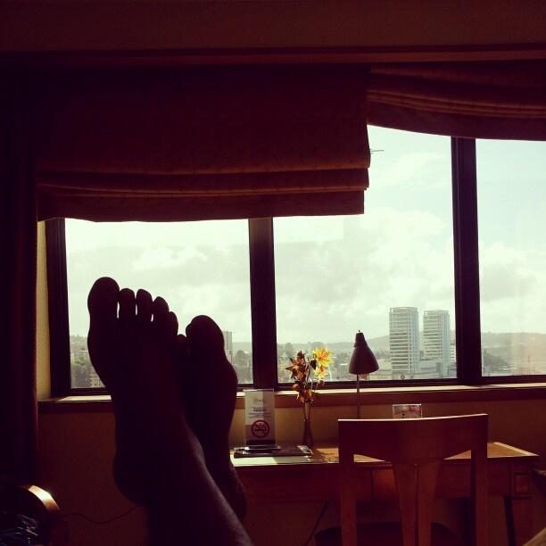 despreocupado en el Hotel Gran Pacifico. Puerto Montt