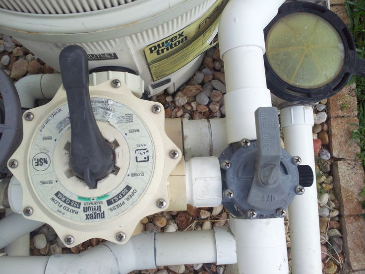 Help replace pentair multiport valve vinyl liners valve
