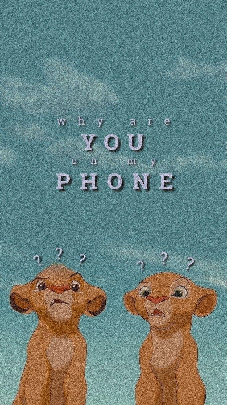 P H O N E Cartoon Wallpaper Iphone Iphone Wallpaper Quotes Funny Wallpaper Iphone Cute