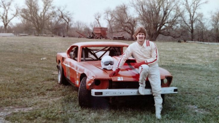 Bruce Ediger 1982 Mid Continent Raceway's 1970 Mustang, street stock division