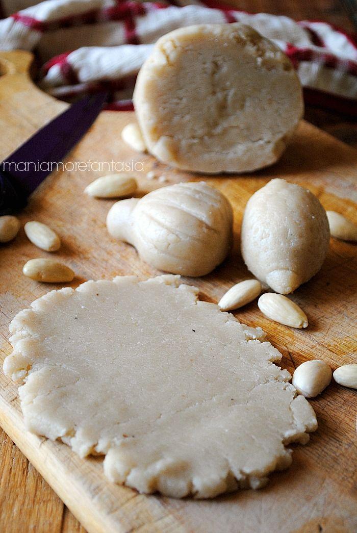 pasta di mandorle ricetta siciliana