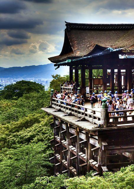 Kiyomizu Temple, Kyoto, Japan 清水寺 京都