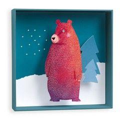 Djeco Καδράκι τοίχου Αρκουδίτσα