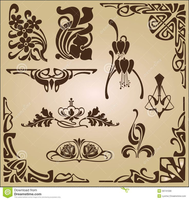 1000 ideas about art nouveau pattern on pinterest art for Art nouveau decoration