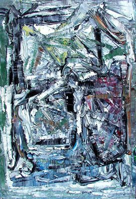 Untitled Abstract Composition by Jean Paul Riopelle. Follow the biggest painting board on Pinterest: www.pinterest.com/atelierbeauvoir