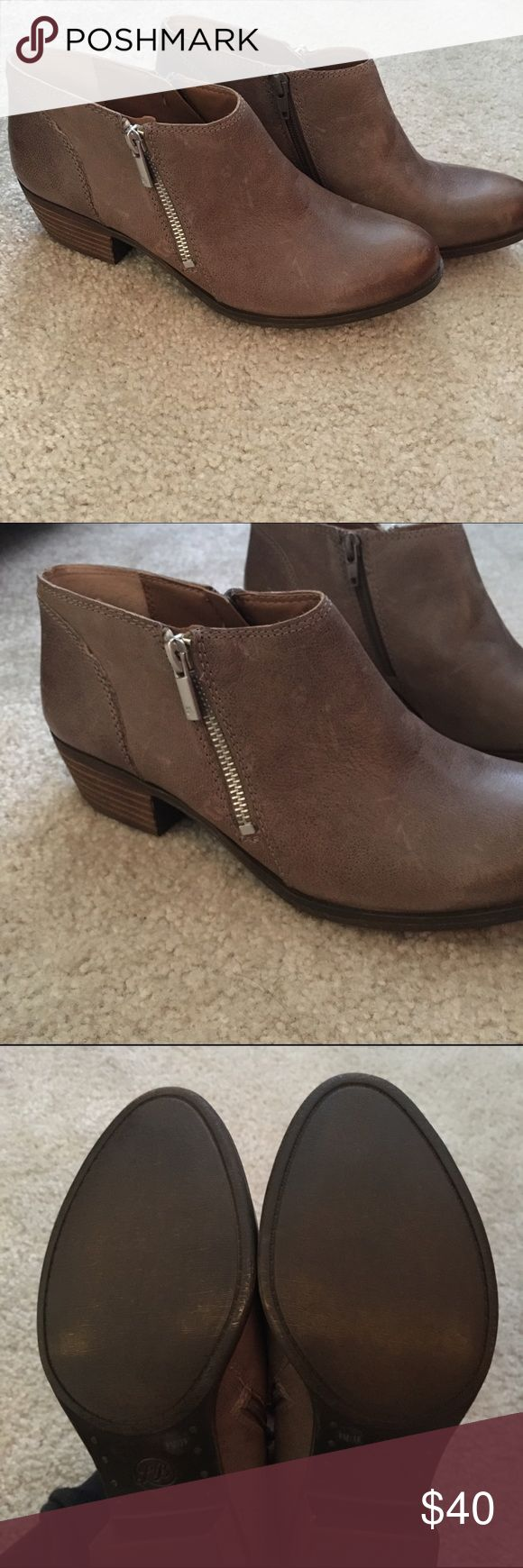 Lucky Brand booties Perfect leather booties  Get ready for fall ladies  NEVER WORN!!!! Lucky Brand Shoes Ankle Boots & Booties