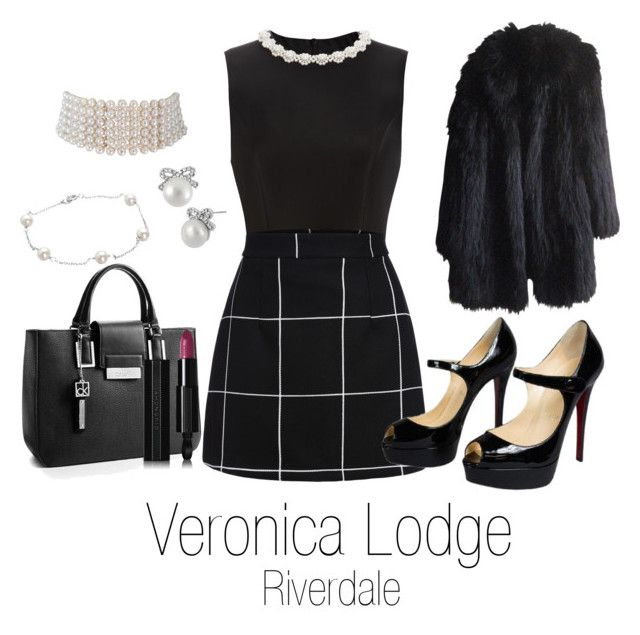 """Veronica Lodge Riverdale"" by sparkle1277 ❤ liked on Polyvore featuring art"