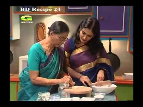 Siddika Kabir's Bangla Recipe- Nokshi Pitha