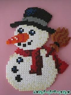 Mis manualidades: Navidad en hama beads