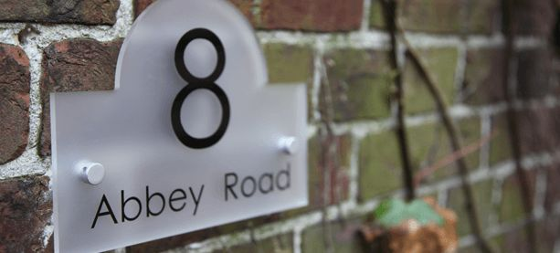 Granite House Signs & Personalised House Signs by Design A House Sign
