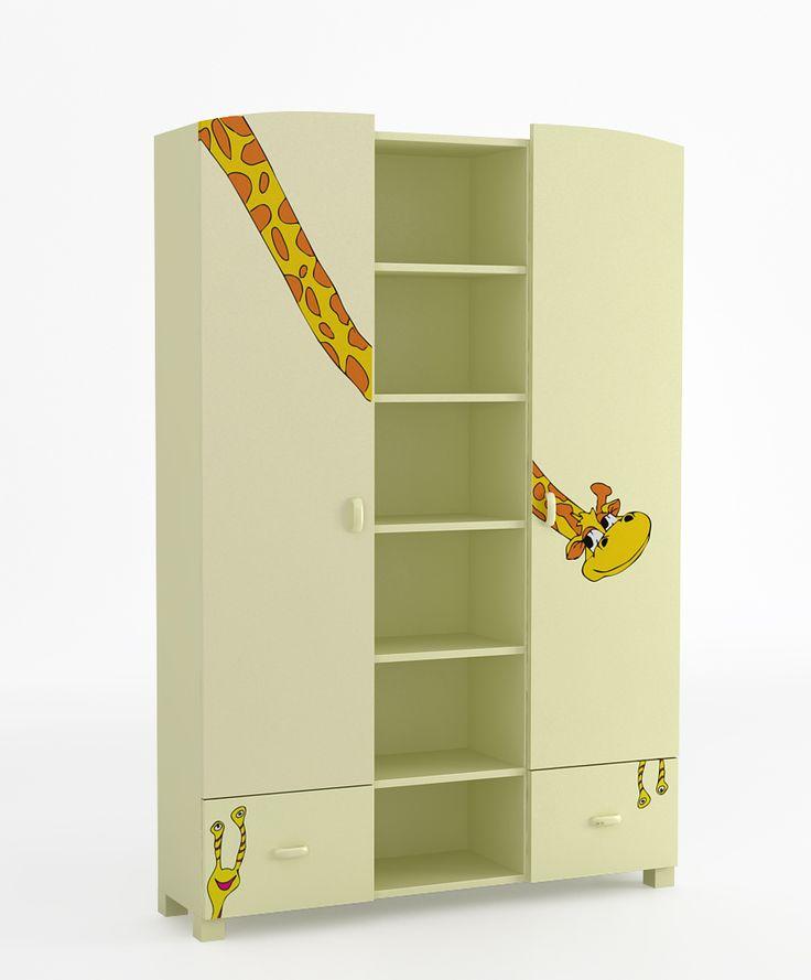 Regał 135 o wymiarach: 1960x1341x339. dwie szuflady i półki zabezpieczone przed wypadnięciem, szuflady na prowadnicach BLUM z systemem BLUMMOTION, krawędzie szuflad zaokrąglone, regał może występować jako ZAMKNIĘTY. Posiada wtedy dwoje drzwi, możliwość przyczepienia regału do ścian
