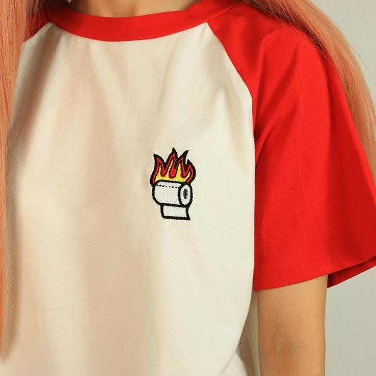 toilet paper t shirt boogzel apparel