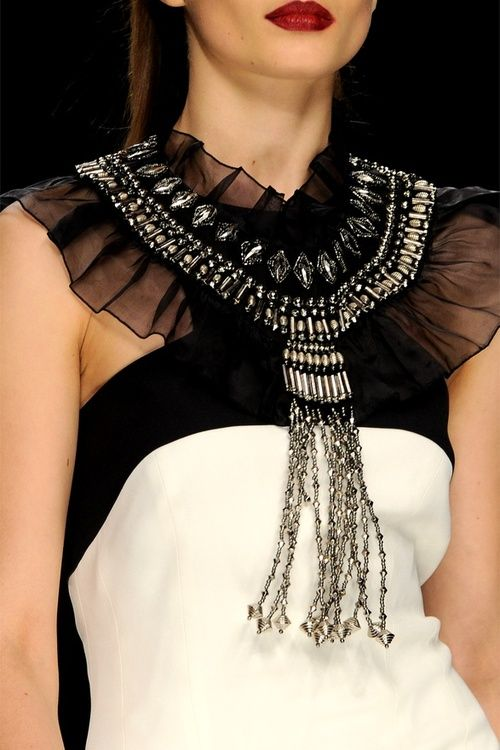 John Richmond f/w 2012 details