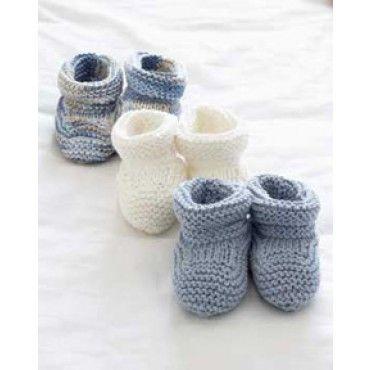 Free Baby Booties Knit Pattern - Free Patterns - Books & Patterns