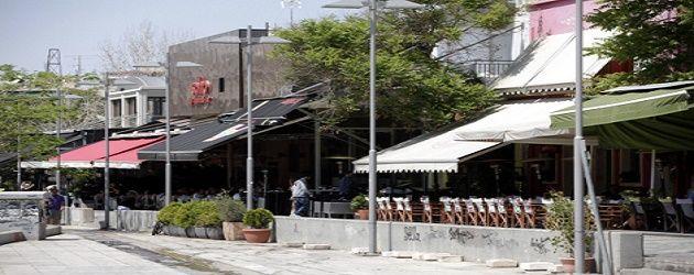 Τα Cafe της πλατείας στο Γκάζι