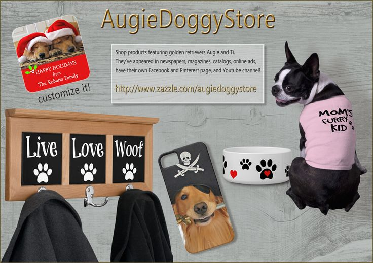 Doggie love products and gifts!