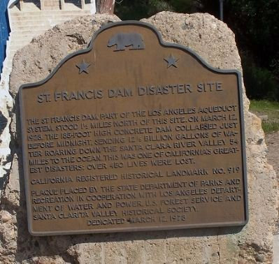 The Worst U.S. Engineering Disaster of the 20th century: St. Francis Dam