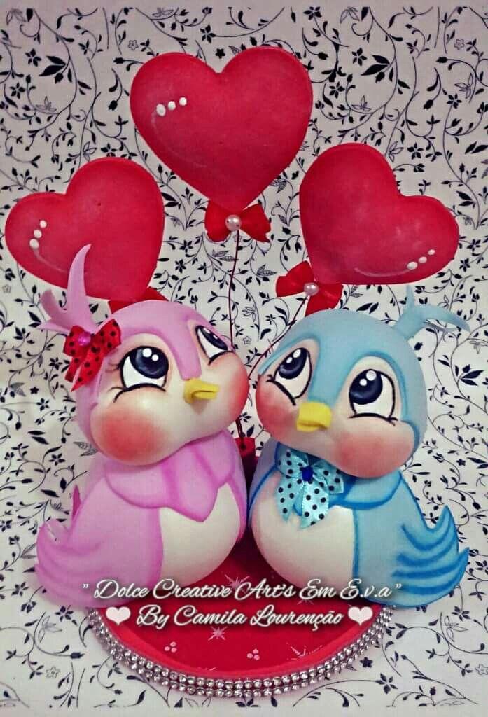 Pájaros san valentin
