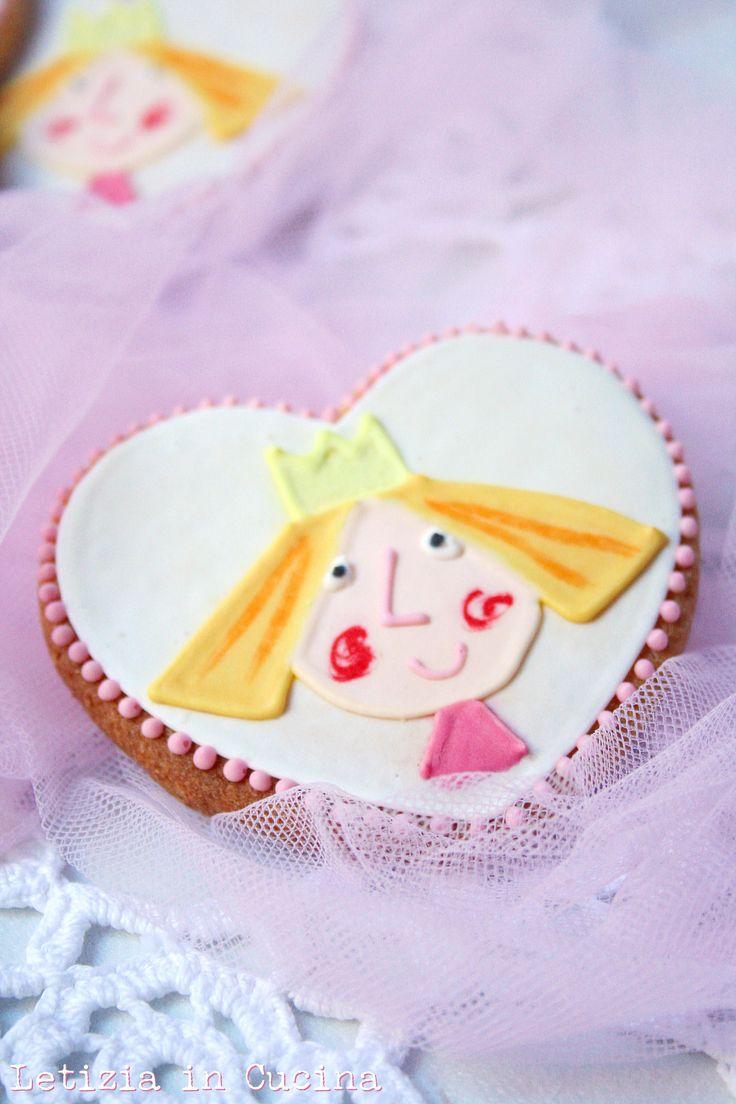 """Biscotti decorati """"Il fantastico mondo di Ben & Holly"""" - Ben and Holly's Little Kingdom Cookies"""