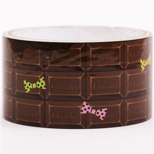 Cinta adhesiva decorativa tableta chocolate negro y lazos Kawaii http://www.amazon.es/dp/B0144ETLN4/ref=cm_sw_r_pi_dp_9r3owb00TV30X