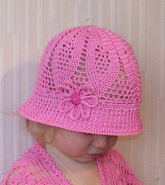 Crochet hat baby