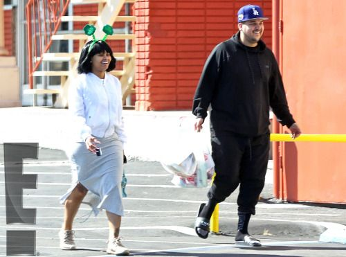 Rob Kardashian and Blac Chyna's Surprisingly Low-Key...: Rob Kardashian and Blac Chyna's Surprisingly Low-Key Birthday Plans Revealed…