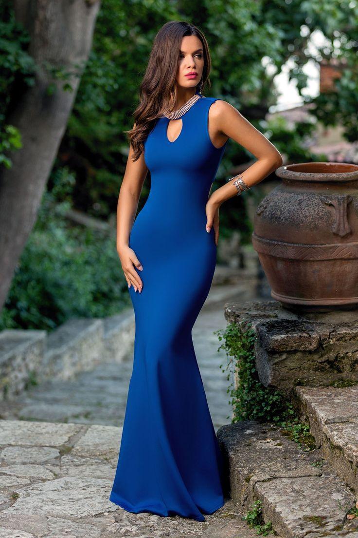 Rochie Perfection Albastra 229 lei Rochie eleganta albastra