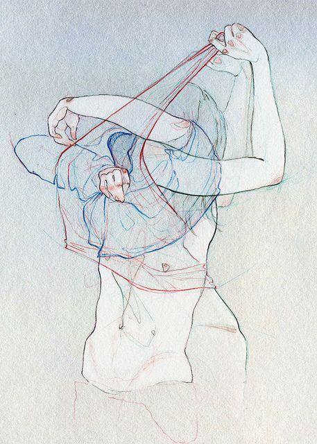 Sin título. Adara Sánchez Anguiano.   Ilustración para la Revista Plástica.