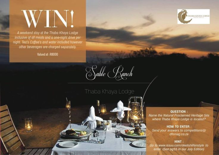 Stand a chance to win!  Read all about it now at www.issuu.com/deelishlifenstyle
