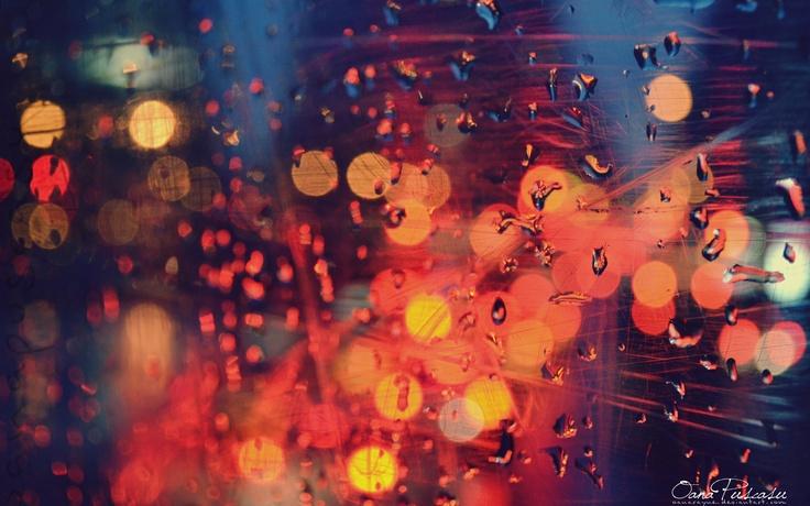 Rain Drop Wallpaper, Mood, Color Light HD Desktop