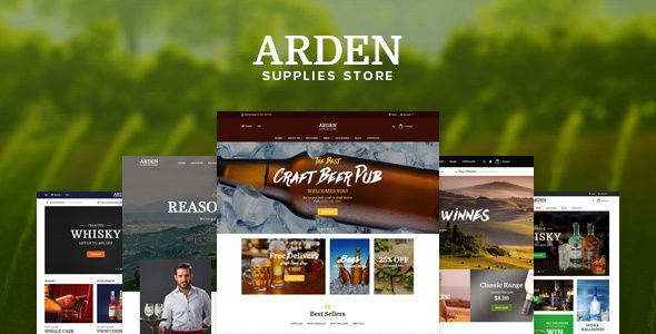 Pts Arden - Clean and Professional by prestashoppro THEME OVERVIEWArden ¨C a best Prestashop Beverage Theme for any Food and Beverage Store. With the great combination between eye-catching images, elegant styles, mixing attractive color background, your store becomes more luxury. Built based on Prestashop and Bootstrap, pts Arden allows to build and d