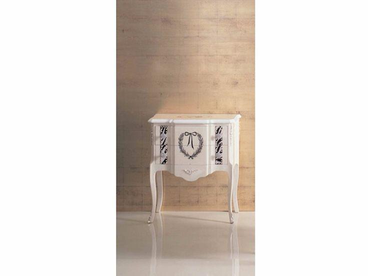 26W Comodino Collezione Tiffany by Rozzoni Mobili d'Arte design Statilio Ubiali