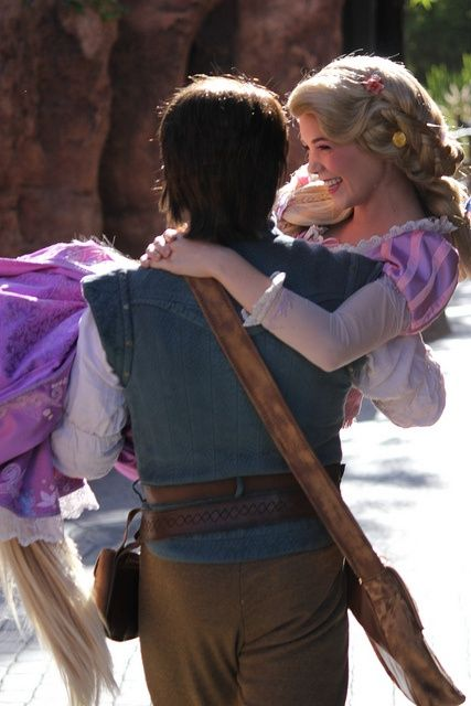 It's official. Flynn and Rapunzel are the cutest ever.