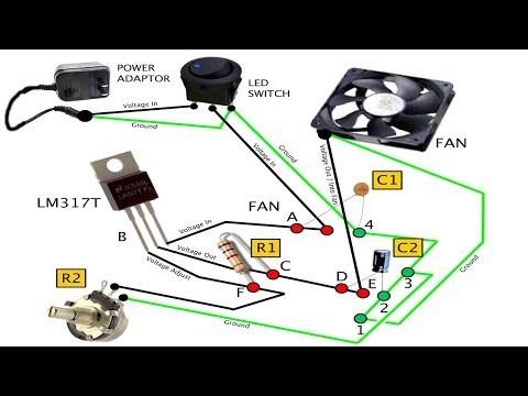 lm317 adjustable voltage regulator tutorial - youtube