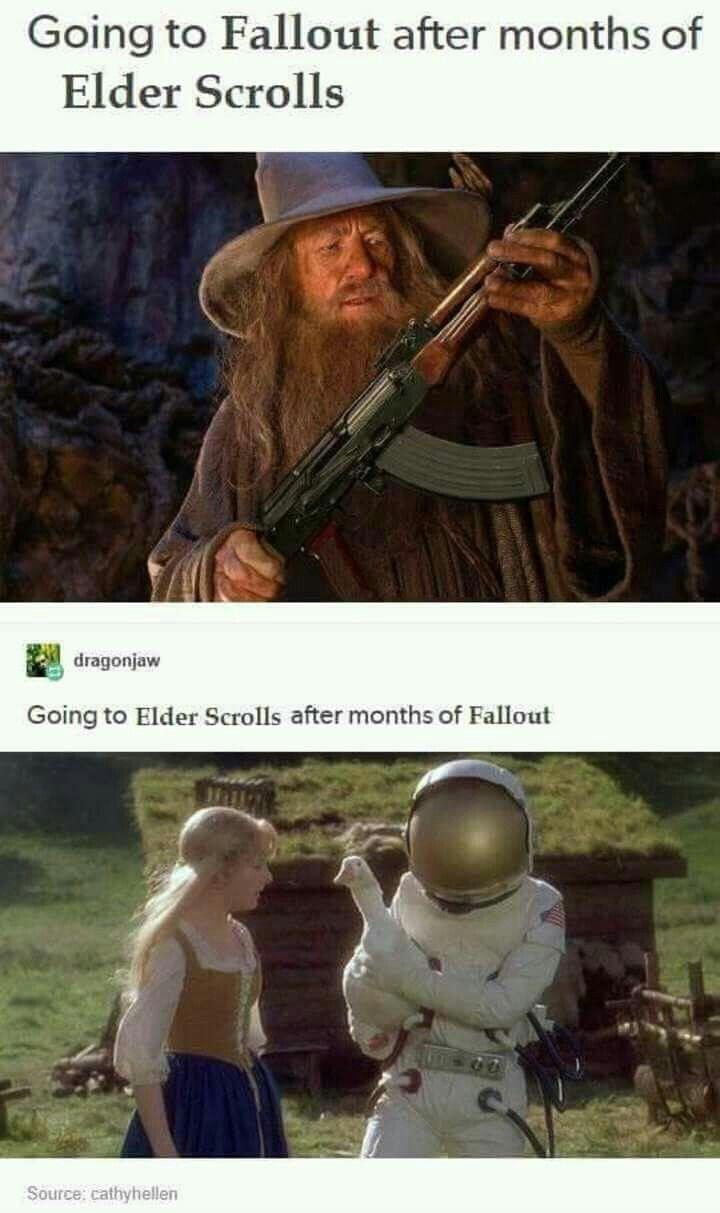 Skyrim   Fallout