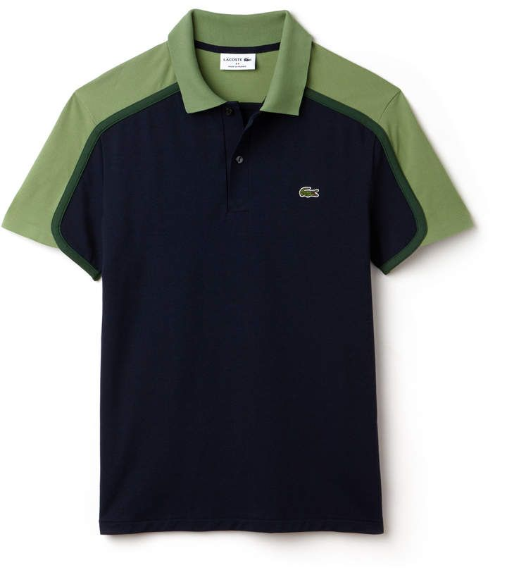 LACOSTE Men s Made in France Slim Fit Pique Polo  b2bacc38348