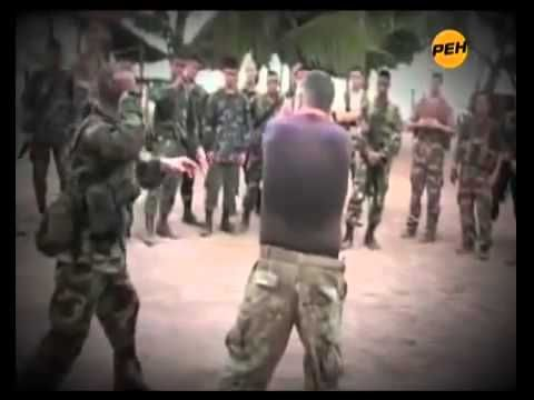 Knife Fight Russian Spetsnaz GRU - YouTube