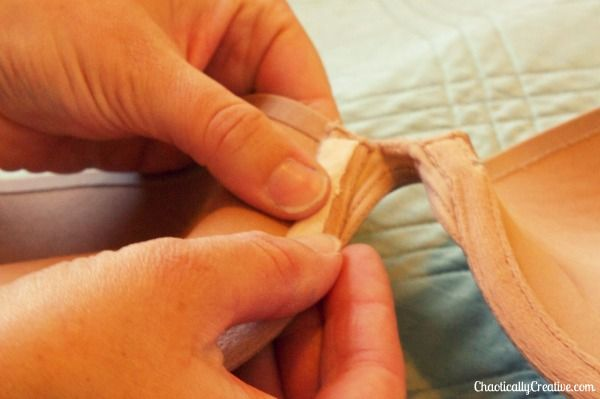 How to fix a bra w/protruding underwire......Wish I had known about this many bras ago.