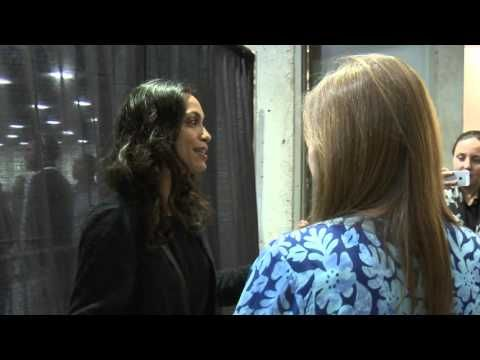 Rosario Dawson Backstage at San Diego Rally | Bernie Sanders - YouTube 3/24/16