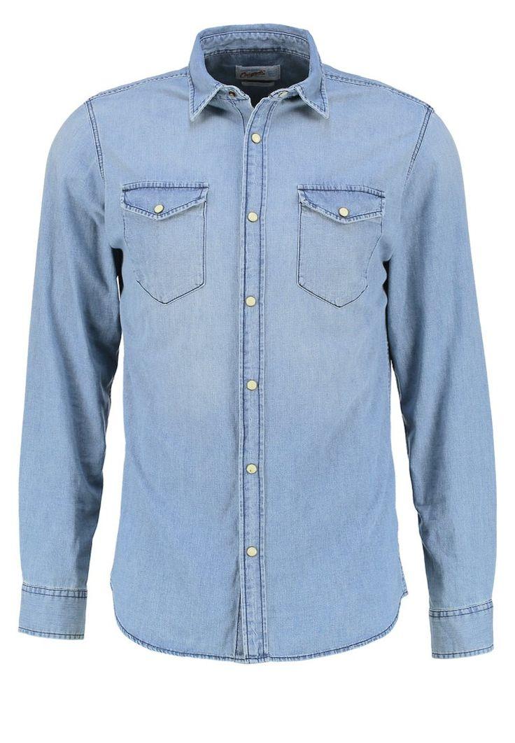 Jack & Jones JORONE SLIM FIT Hemd light blue denim Bekleidung bei Zalando.de   Material Oberstoff: 100% Baumwolle   Bekleidung jetzt versandkostenfrei bei Zalando.de bestellen!