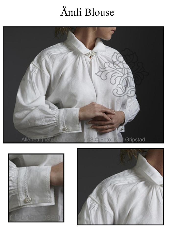Amli (from Aust Agder) bunad blouse