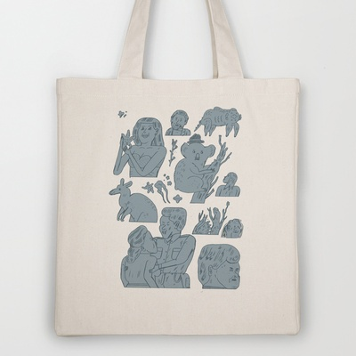 pokpok Tote Bag by Jon Boam - $18.00