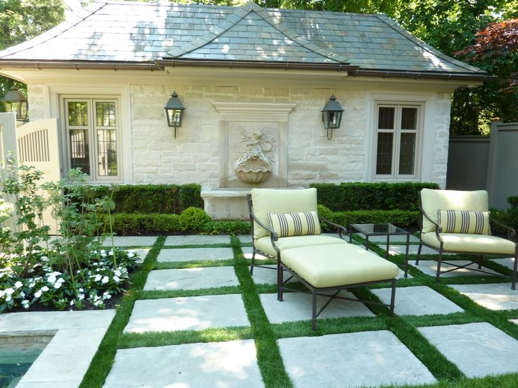 outdoor checkerboard with pavers | 11 inspiring garden looks to steal | The Home and Garden Blog